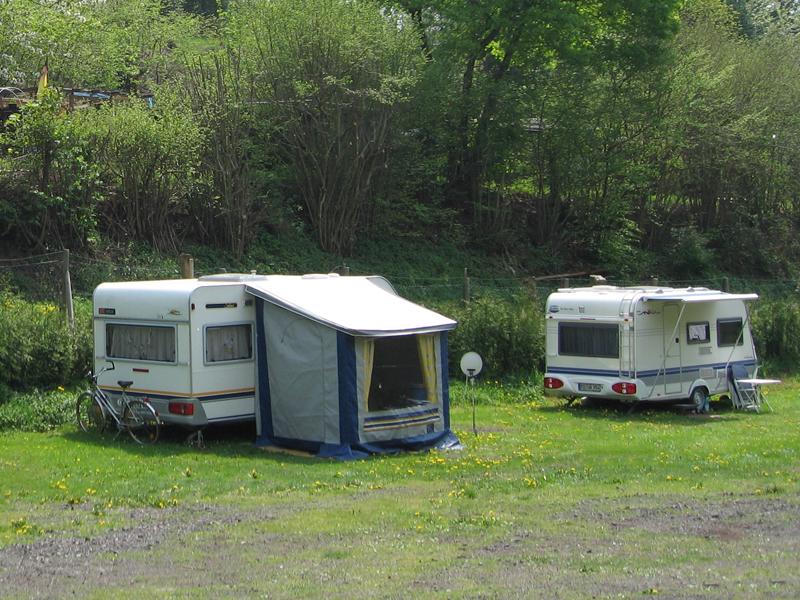 Plätze für Urlaubs- und Dauercamper